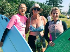 Jen, Kerry and Peta